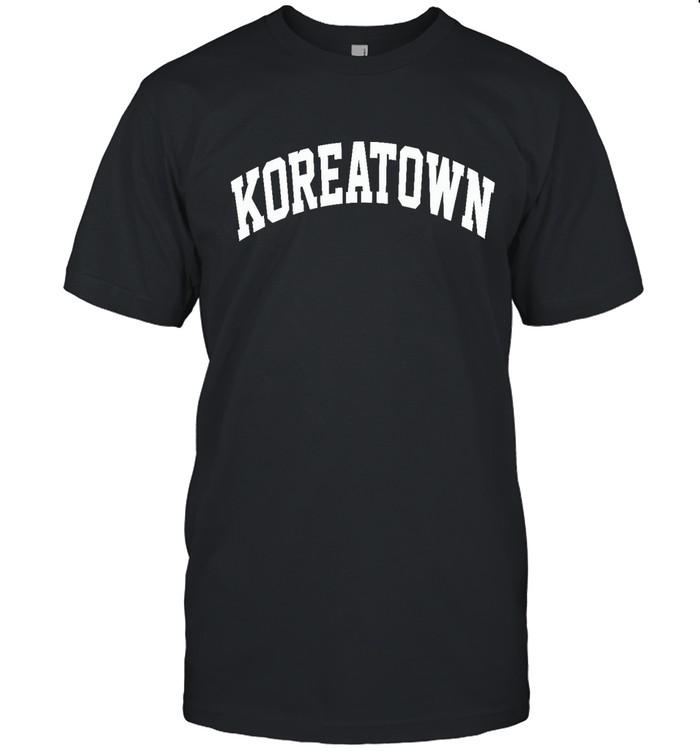forever 21 koreatown shirt shop
